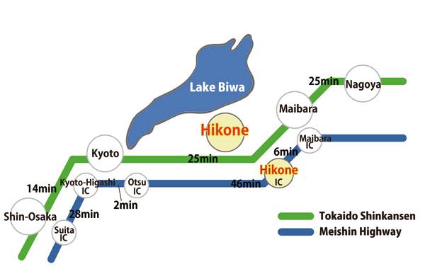 shiga map